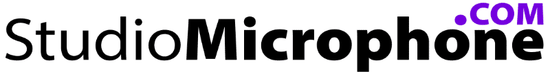 Studio Microphone Com Logo