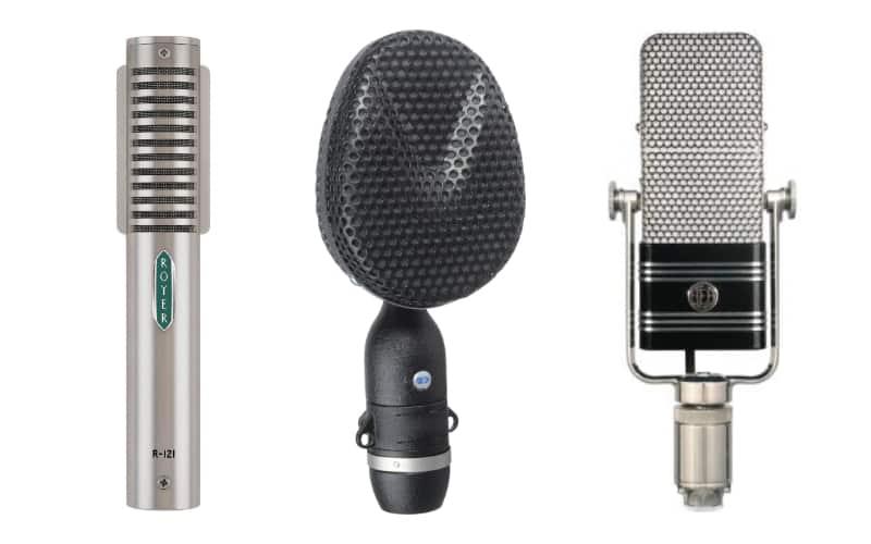 Microphone ruban