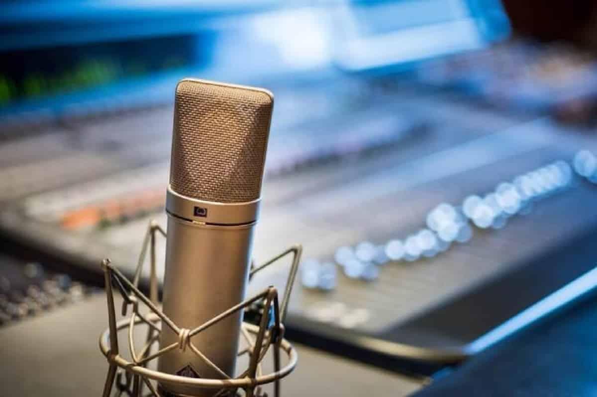 Microphone Neumann U87 directivités
