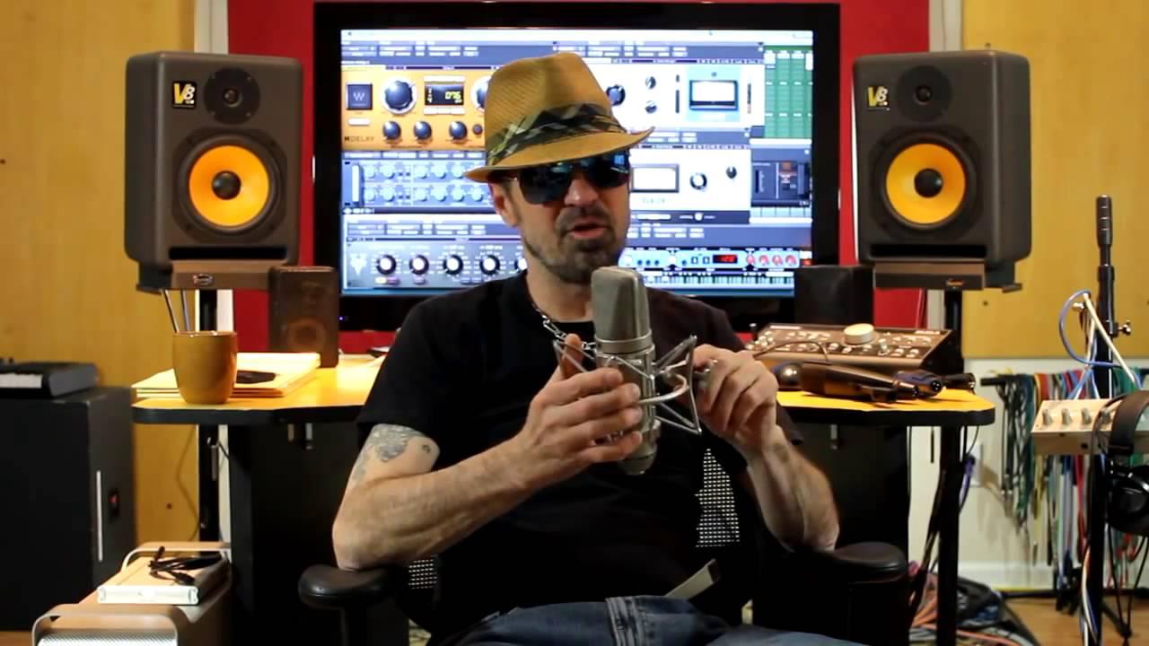 Ingénieur du son en studio d'enregistrement