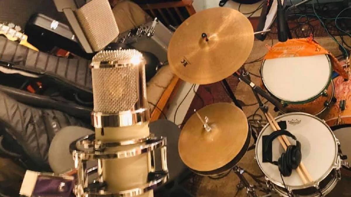 Neumann U47 en studio