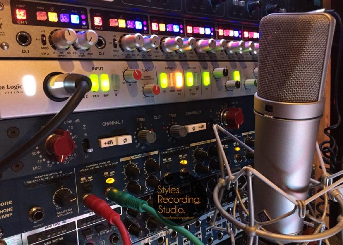 Microphone Neumann U87 Studio Enregistrement