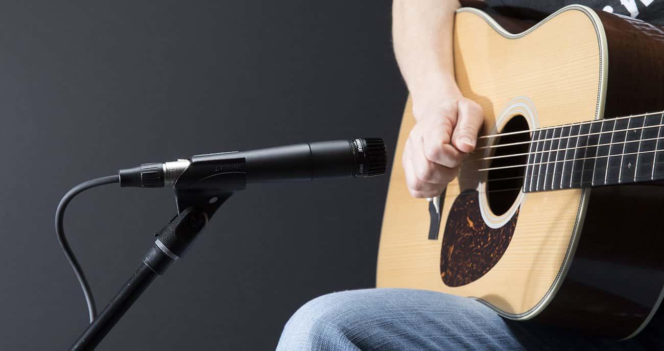 Le Shure Sm57 est spéciale pour enregistrement de musique.