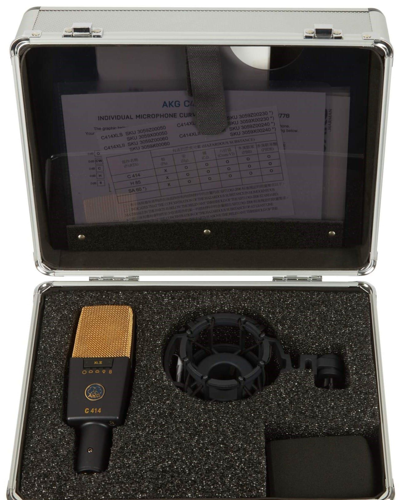 AKG C414 XLII packaging