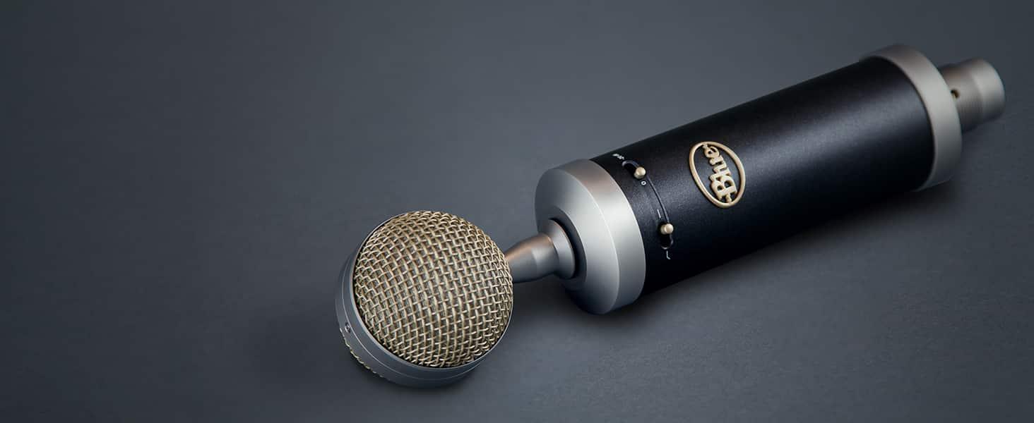 microphones à grande membrane