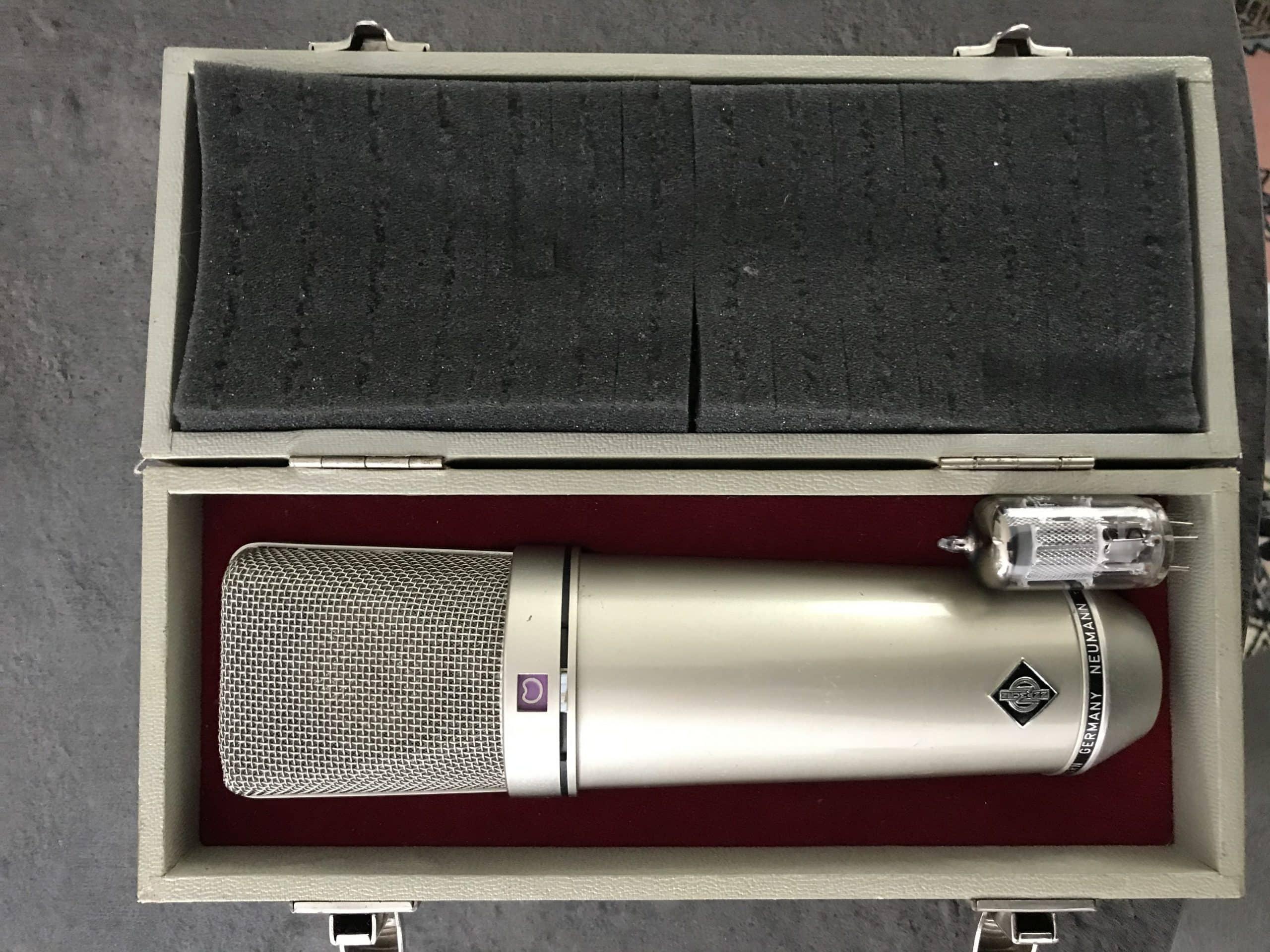 Un Microphone à Condensateur