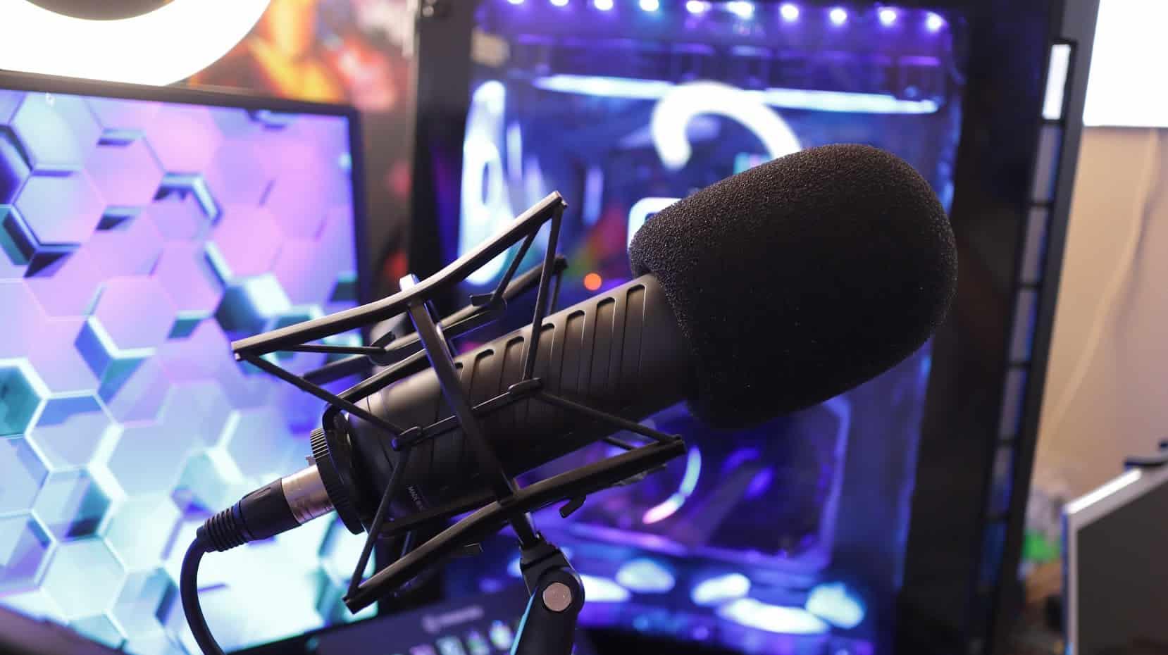 Un microphone idéal dans la radiodiffusion.