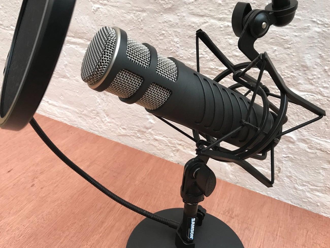 Un microphone gourmand en énergie
