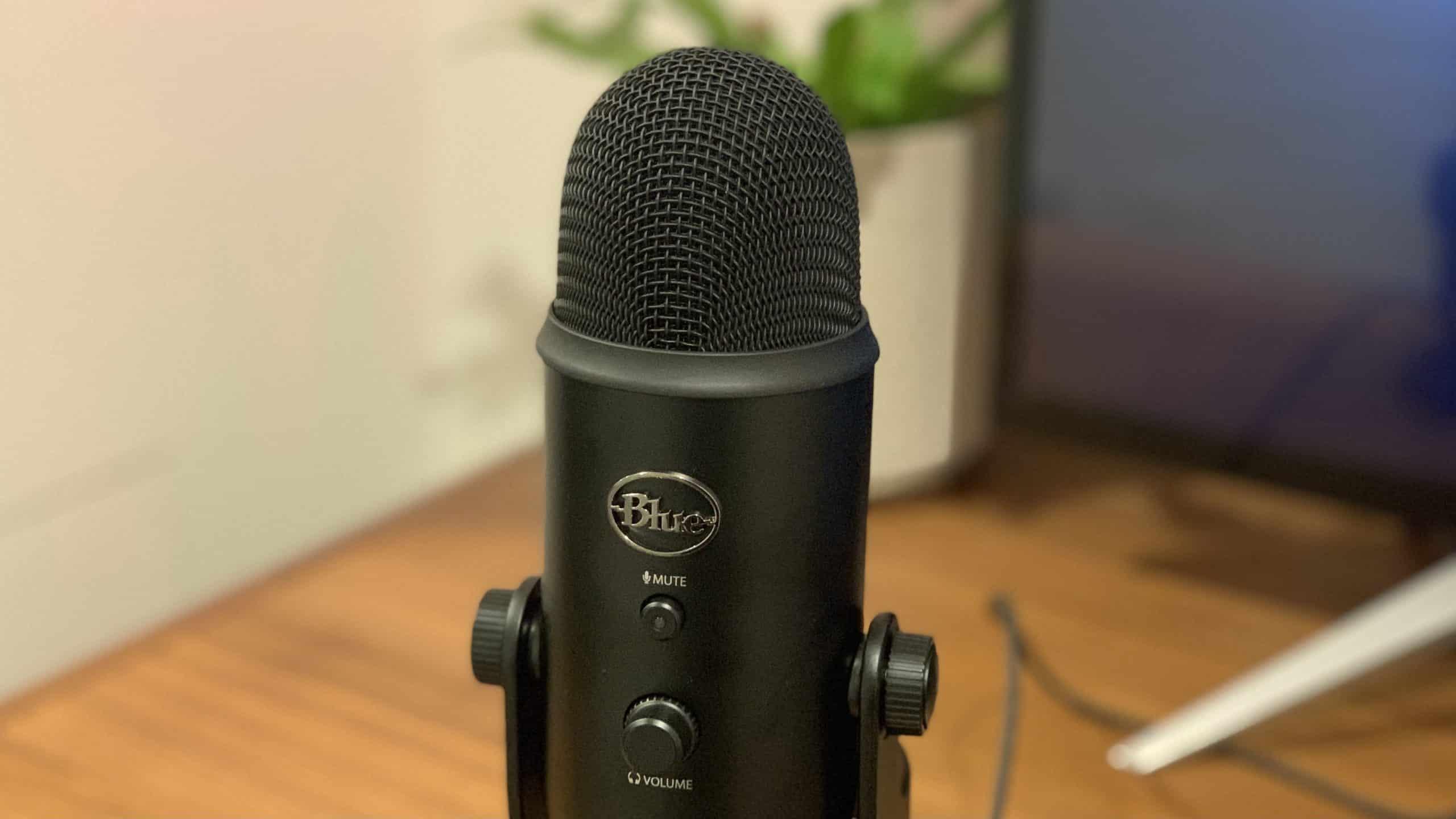 Le microphone de studio