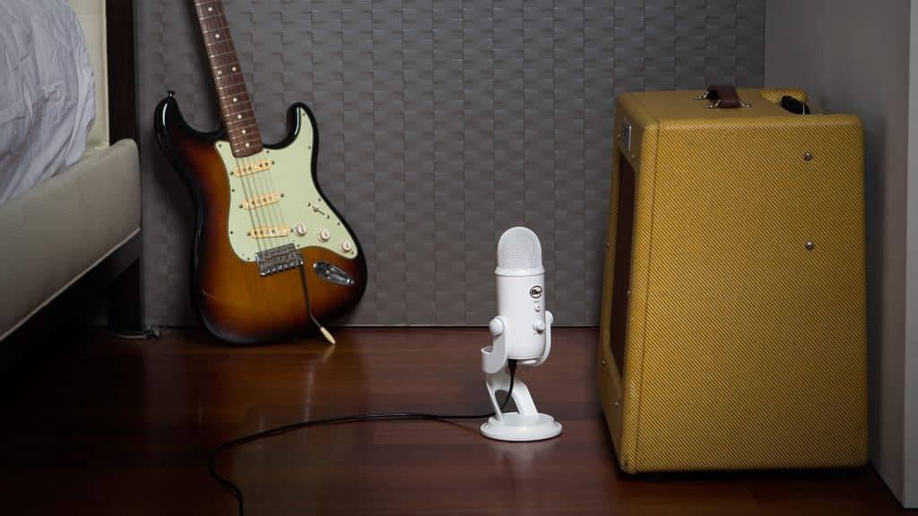 Blue Yeti idéal pour un l'enregistrement en Studio
