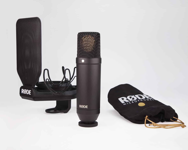le microphone à condensateur Rode NT1