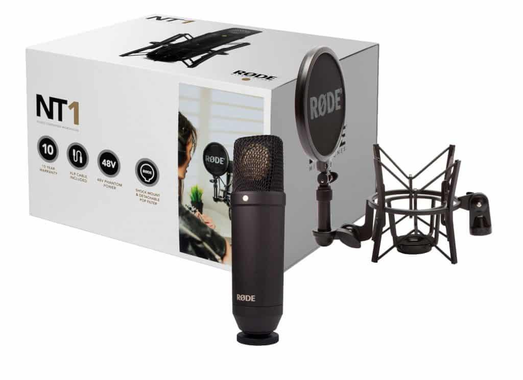 Un microphone de studio utilisé par nombreux professionnels et amateur