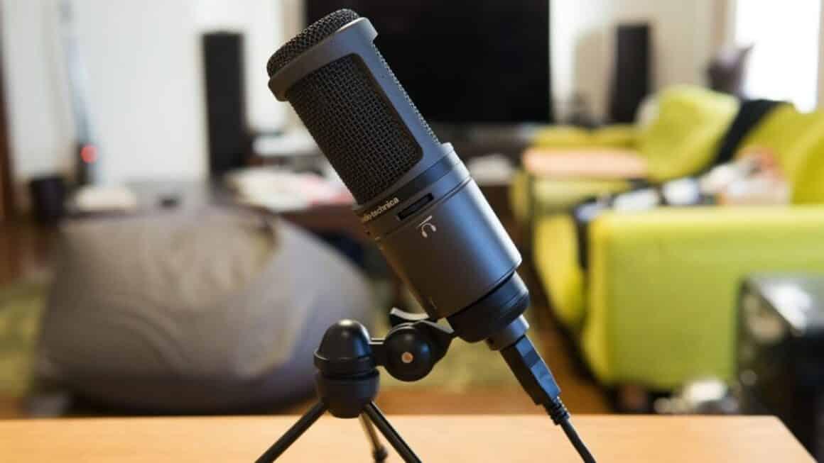 L'Audio-Technica AT2020est considéré comme l'un des meilleurs microphones USB depuis plusieurs années.