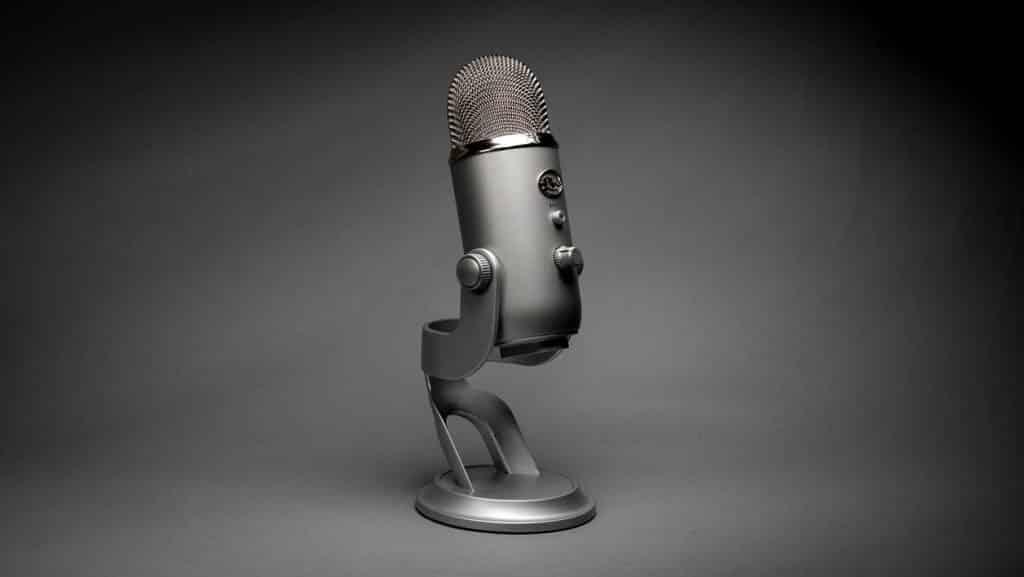 Un microphone léger et portatif