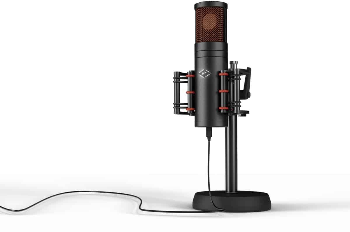l'Antelope Edge est le microphone pour tous les amateurs et professionnels.