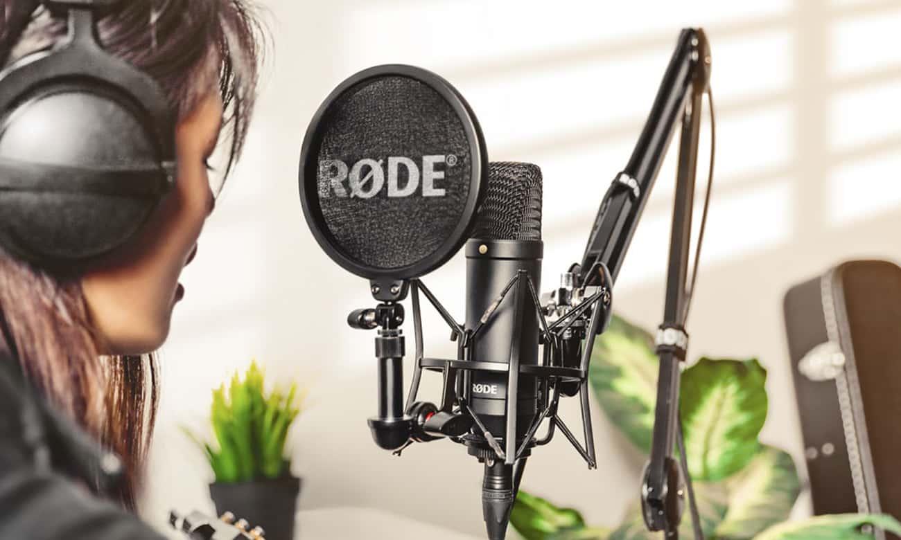 Optimiser votre enregistrement vocal avec Rode NT1