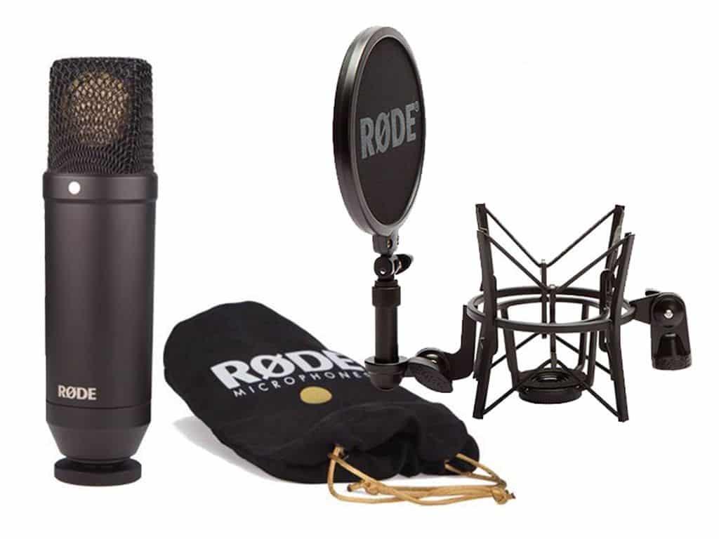 Rode NT1 : un microphone de studio polyvalent