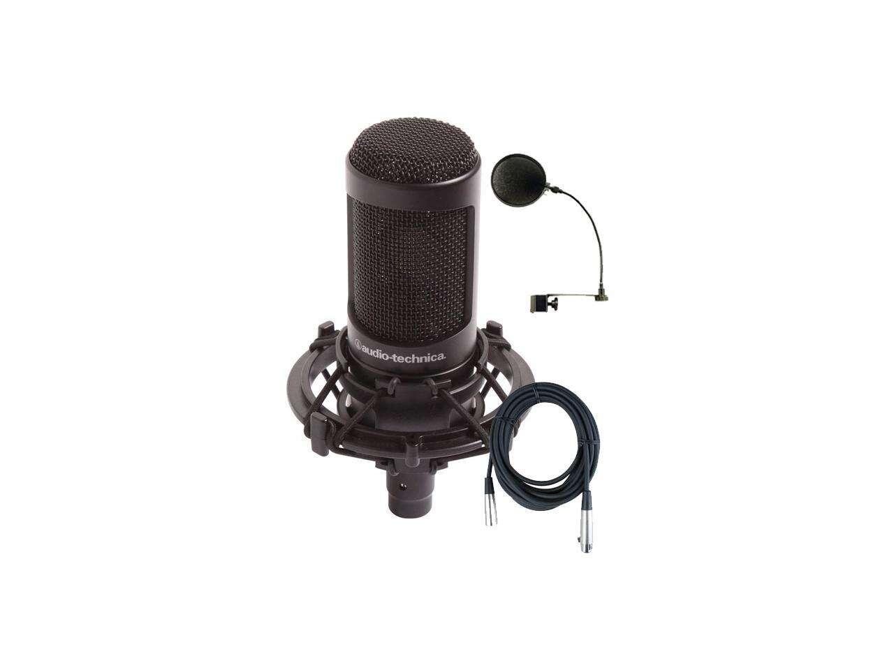 AT 2035 fait partie de la gamme des microphones à condensateur pour studios