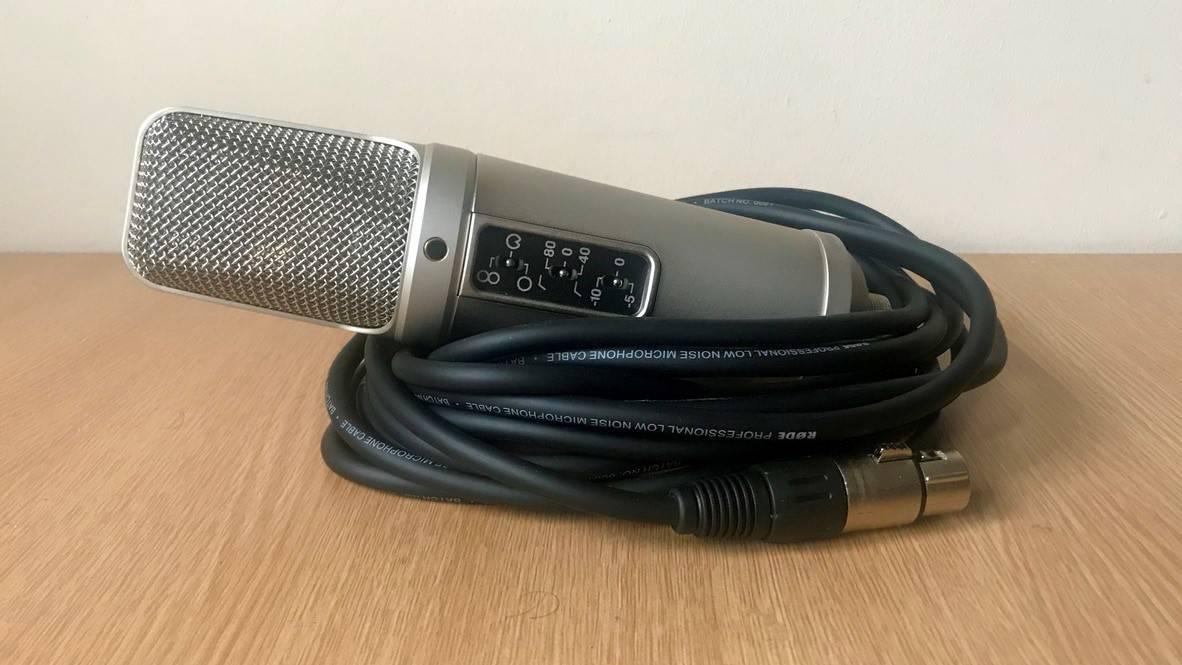 le Rode NT2-A répond à toutes les exigences sonores.