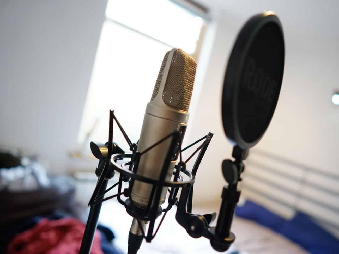 Un matériel de studio simple d'utilisation à trois directivités