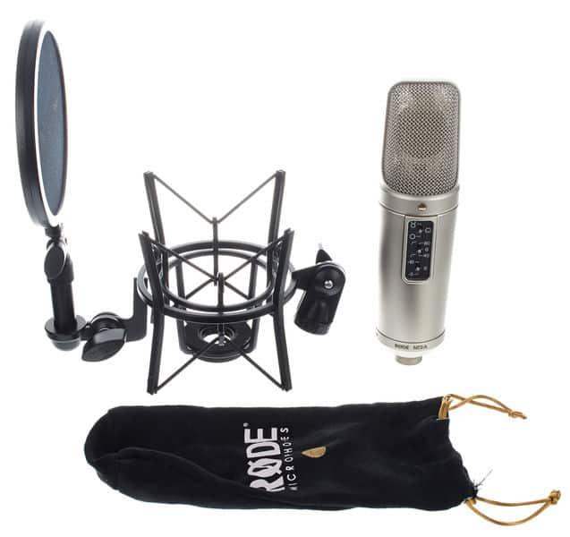 Premier microphone à condensateur Rode d'origine australienne