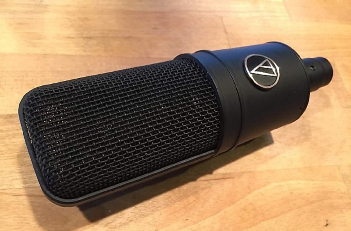 AT4033 d'Audio-Technica : pour les débutants.