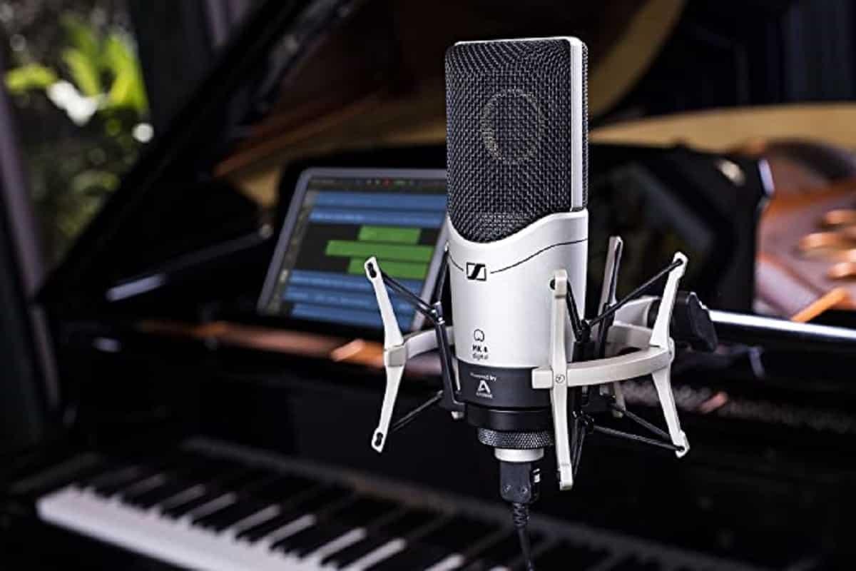 Sennheiser MK4 est un microphone stylé