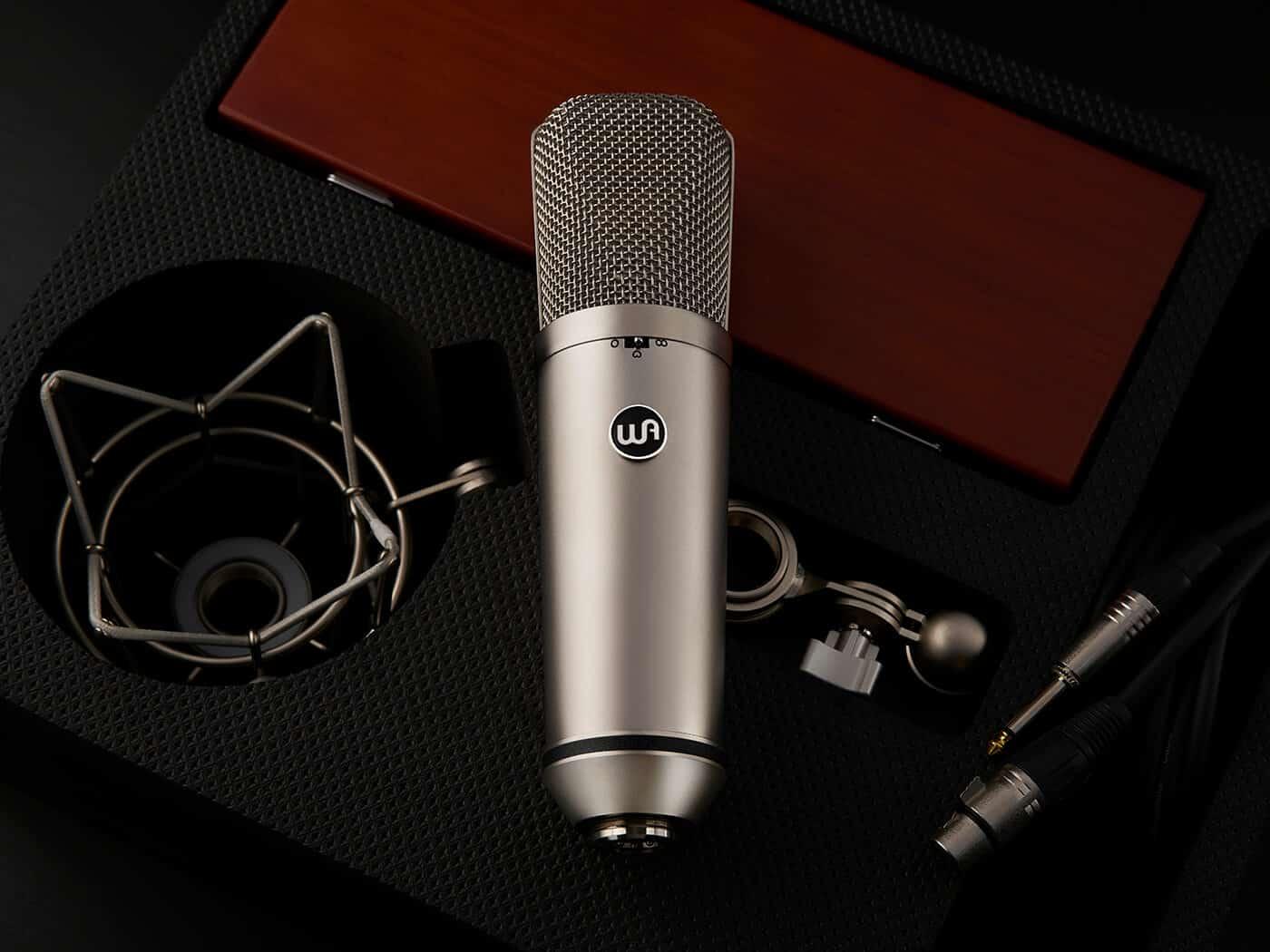 Le micro  WA-87 peut à la fois alimenter la dynamique et amplifier la dynamique en studio.