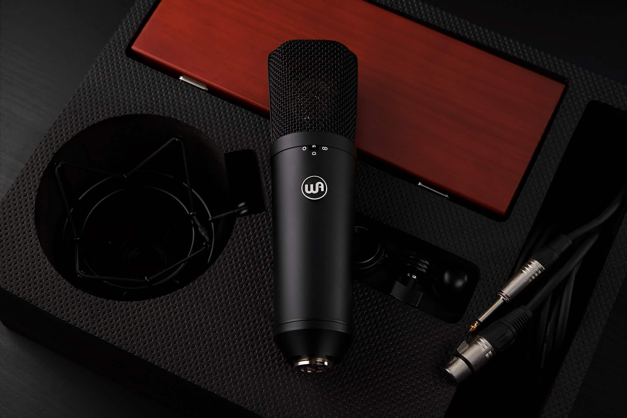 Warm Audio WA-87 reprend le concept et le design du Neumann U87.