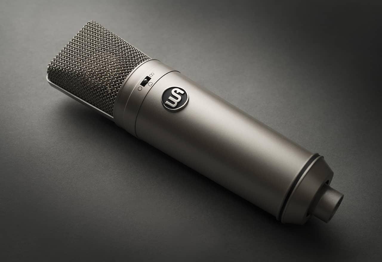 Un microphone a trois types de directivité