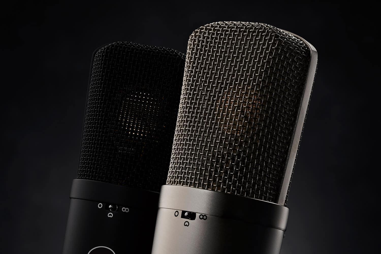 Le microphone de studio WA-87 :  Pour minimiser les coûts de production.