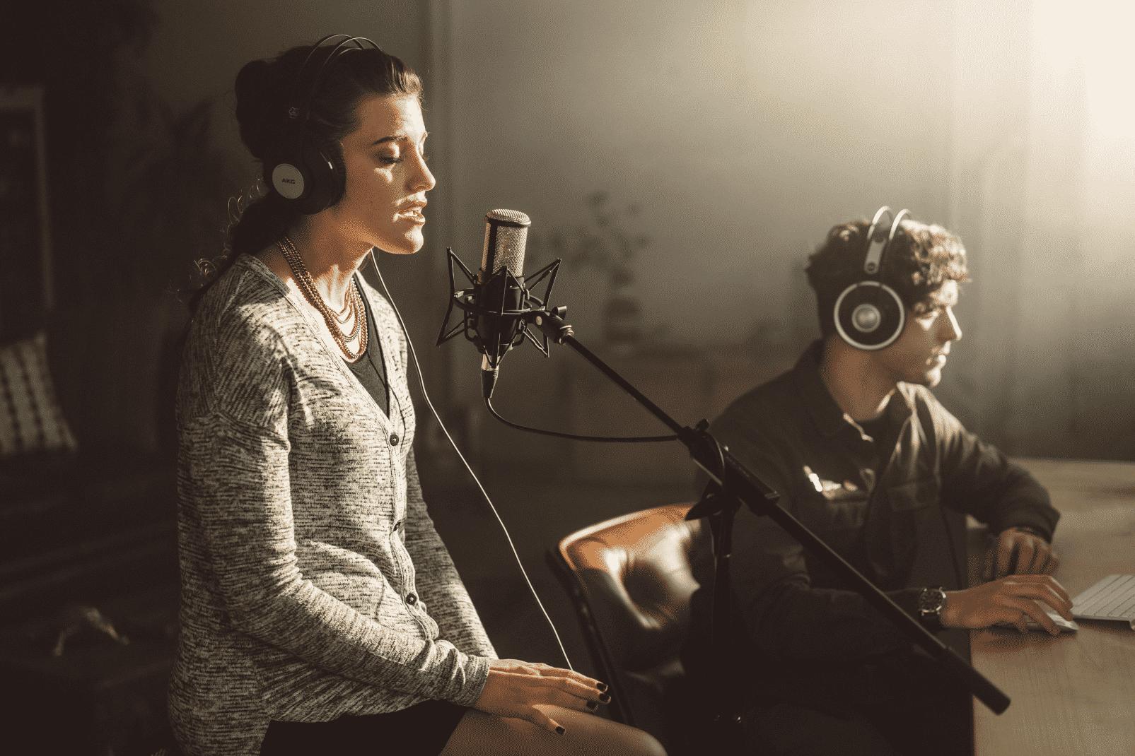 AKG P420 est fait pour mixer l'enregistrement studio.