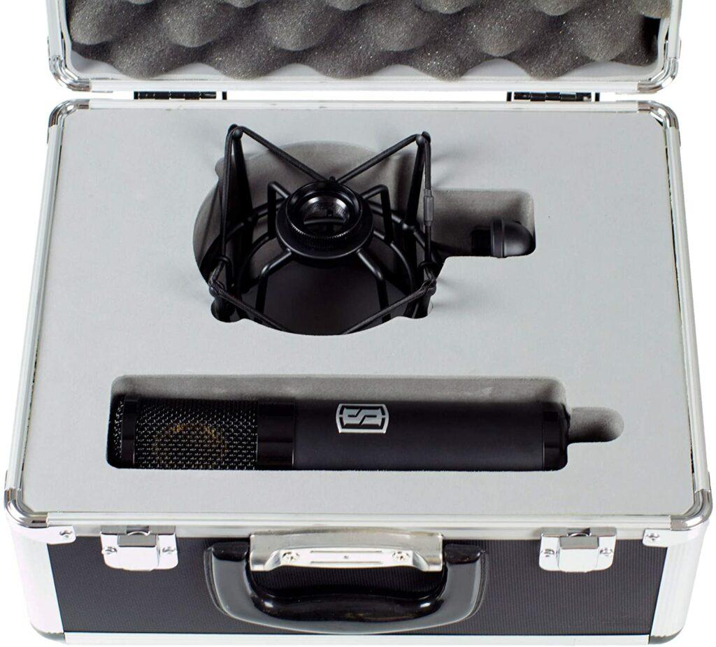 L'élément central du VMS ou du Système de Microphone Visuel Slate.