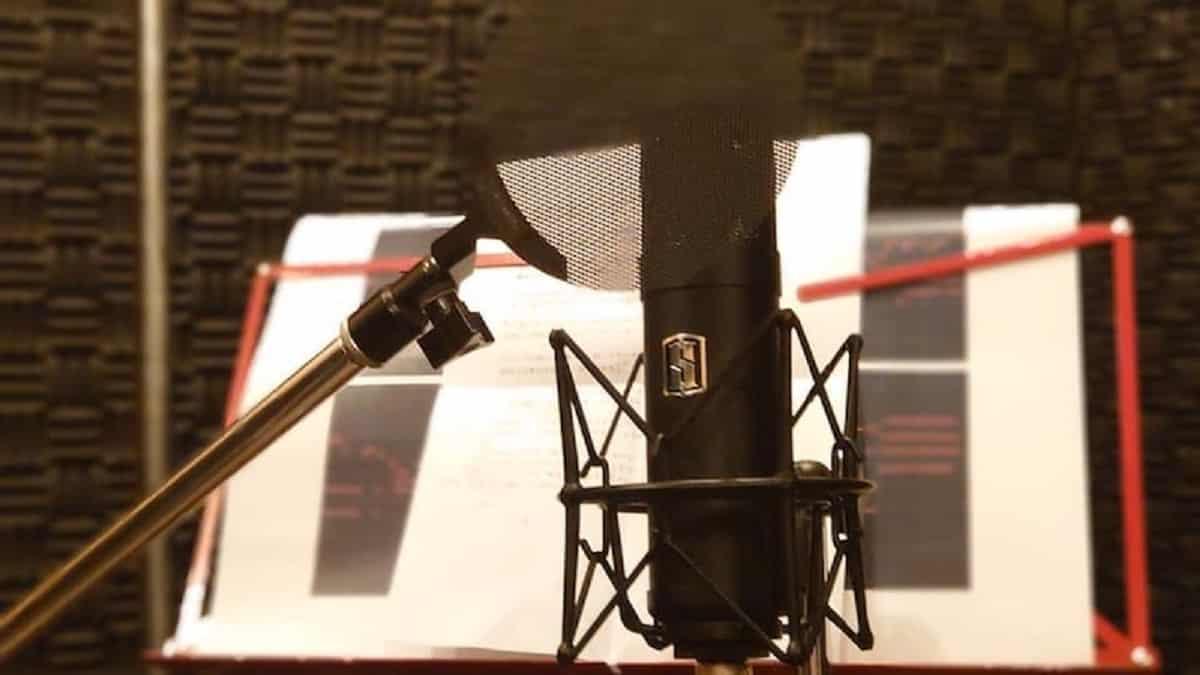 Parfaite pour les amateurs du podcast et les artistes de voix-off .