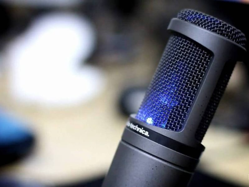 Audio Technica At2020 Usb Test Complet
